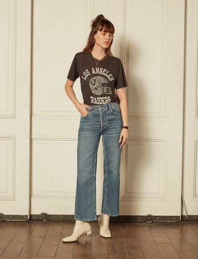 Jean Mikey Wide Leg Flare